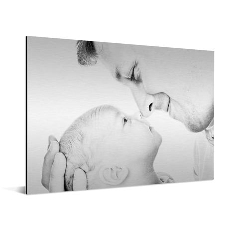 Foto op aluminium kinderen zwart wit