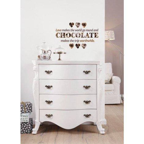 Muursticker Chocolate