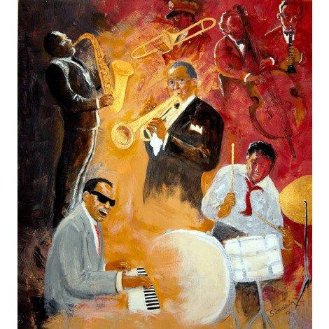 Fotobehang Jazz