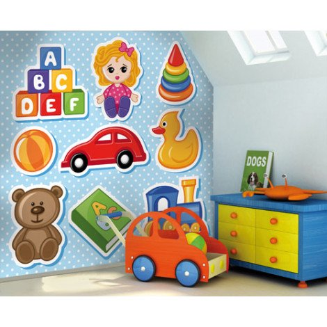 Fotobehang Toy Shop