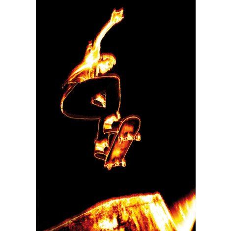 Fotobehang Skateboarder 2