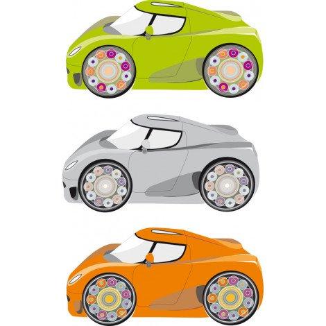 Fotobehang Raceauto 2