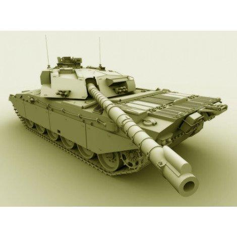 Fotobehang Tank