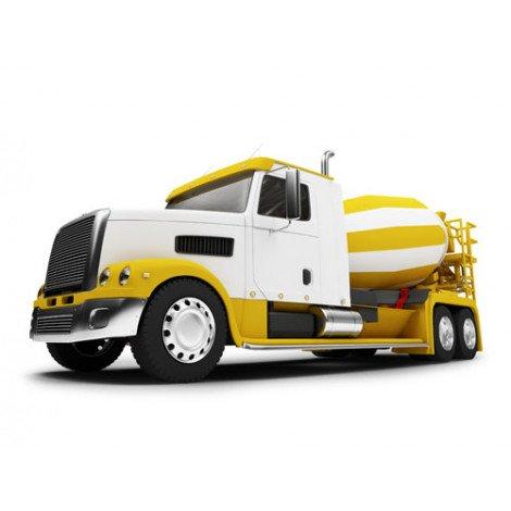 Fotobehang Vrachtauto