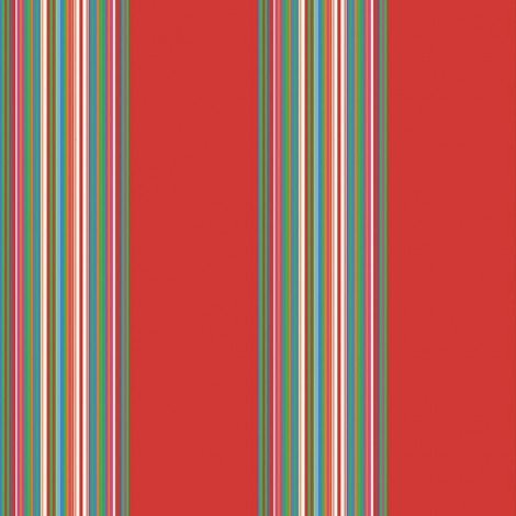 Fotobehang Stripes Rood