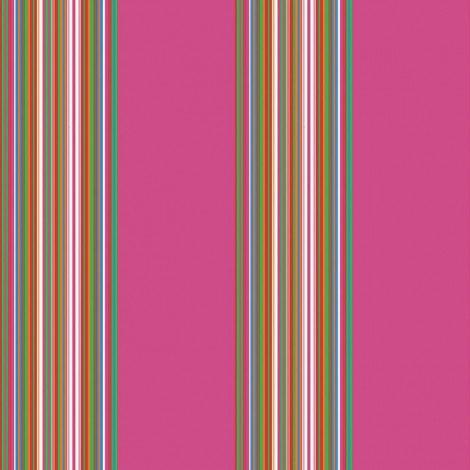 Fotobehang Stripes Donker Roze