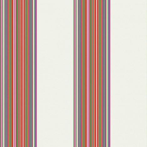 Fotobehang Stripes Wit
