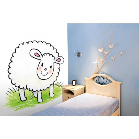 Fotobehang Jolly Sheep