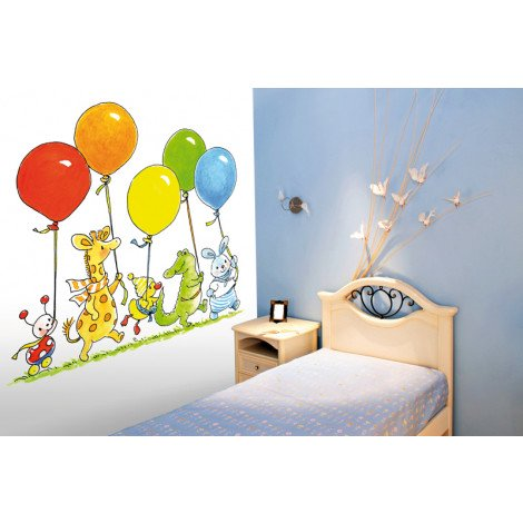 Fotobehang Balloon Parade