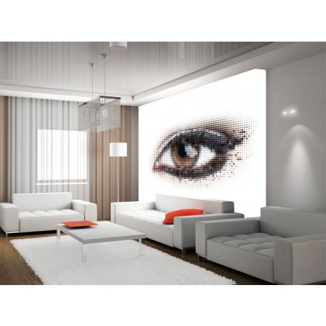 Fotobehang Eye