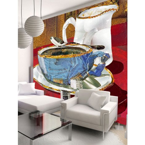 Fotobehang Coffee with Sugar