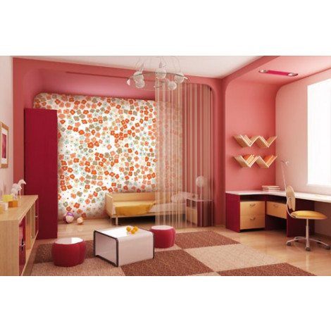 Fotobehang Flower Field