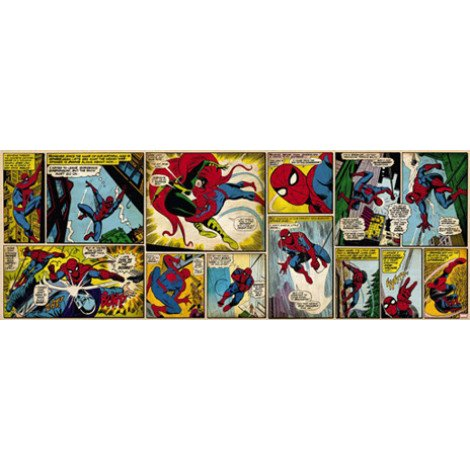 Fotobehang Comic Spider-Man
