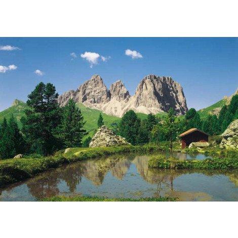 Fotobehang Dolomiten