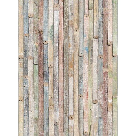Fotobehang Vintage Wood