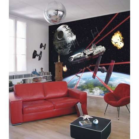 Fotobehang Star Wars Millennium Falcon