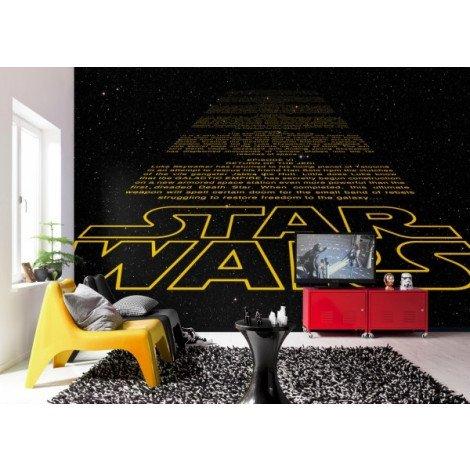 Fotobehang Star Wars Intro