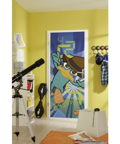 Fotobehang Phineas and Ferb Agent P.