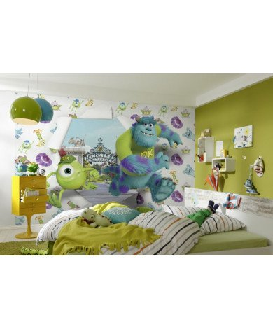 Fotobehang Monsters University