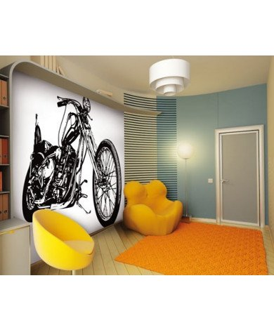 Fotobehang Cool Motorbike
