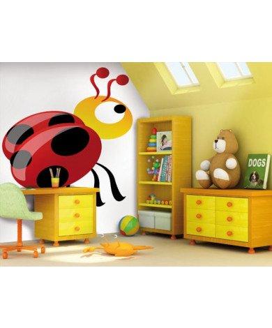 Fotobehang Ladybird