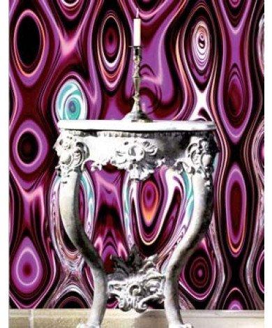 Fotobehang Purple Variation