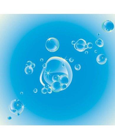 Fotobehang Water Luchtbellen