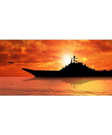 Fotobehang Marineboot
