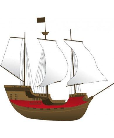 Fotobehang Piratenboot 2