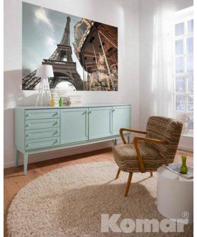 Fotobehang Carrousel de Paris
