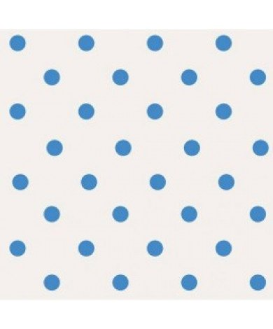 Fotobehang Polka Dots Wit