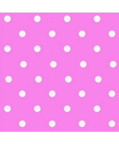 Fotobehang Polka Dots Roze
