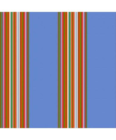 Fotobehang Stripes Blauw