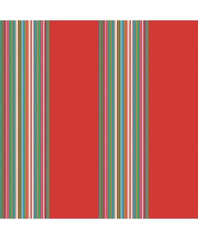 Fotobehang Stripes Rood