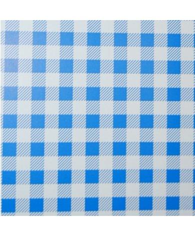 Fotobehang Ruit Blauw