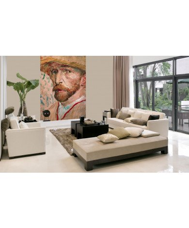 Fotobehang Van Gogh Selfportrait