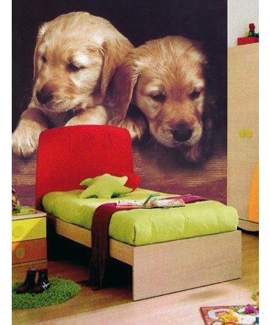 Fotobehang Doggies