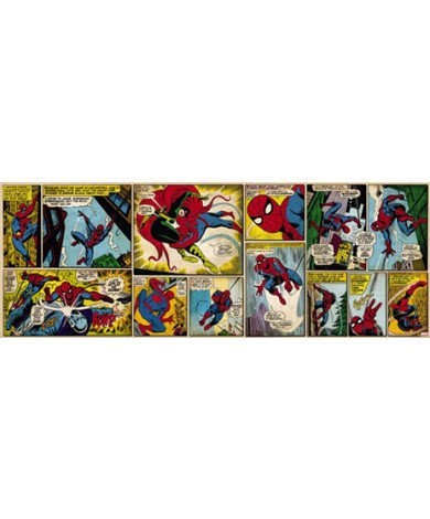 Fotobehang Comic Spider-Man