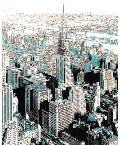Fotobehang Gotham-2