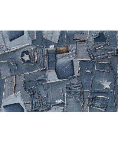 Fotobehang Jeans