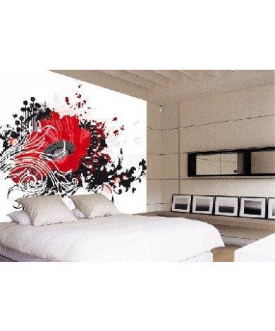 Fotobehang Red Flower