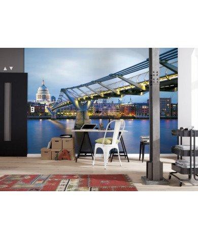 Fotobehang Millennium Bridge