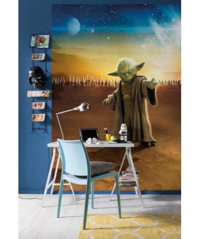 Fotobehang Star Wars Master Yoda