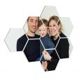 foto over meerdere hexagons