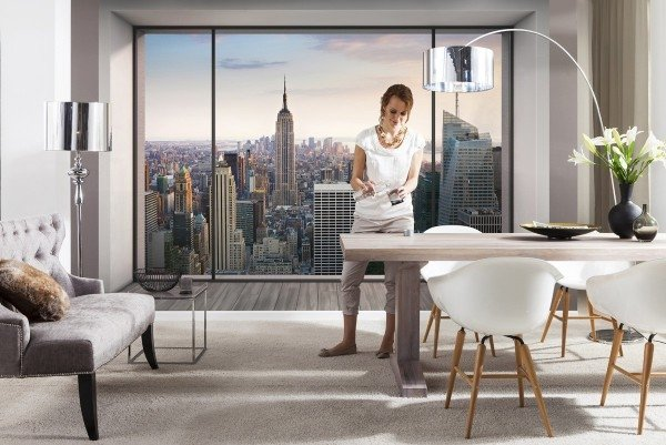 Fotobehang New York Penthouse