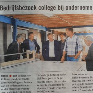 Krantenbericht noordoost Friesland